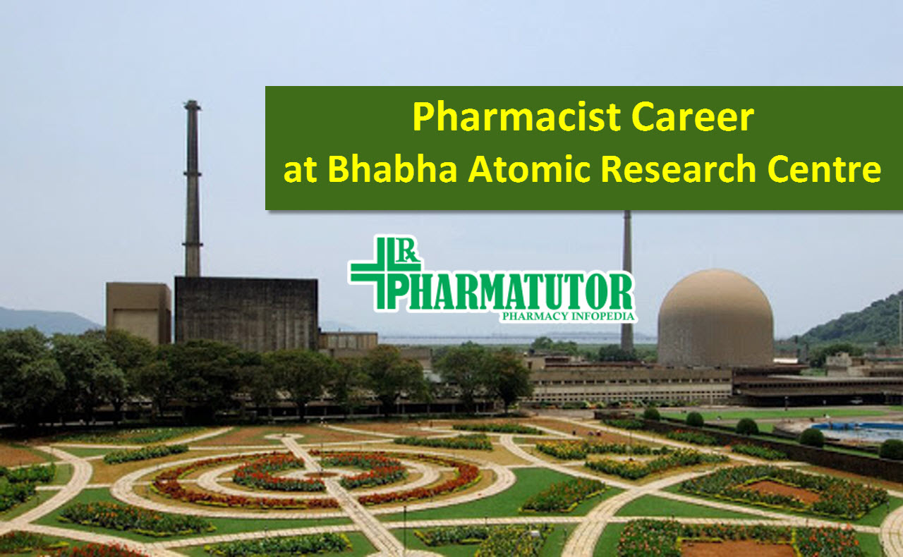 Job for Pharmacist at Bhabha Atomic Research Centre