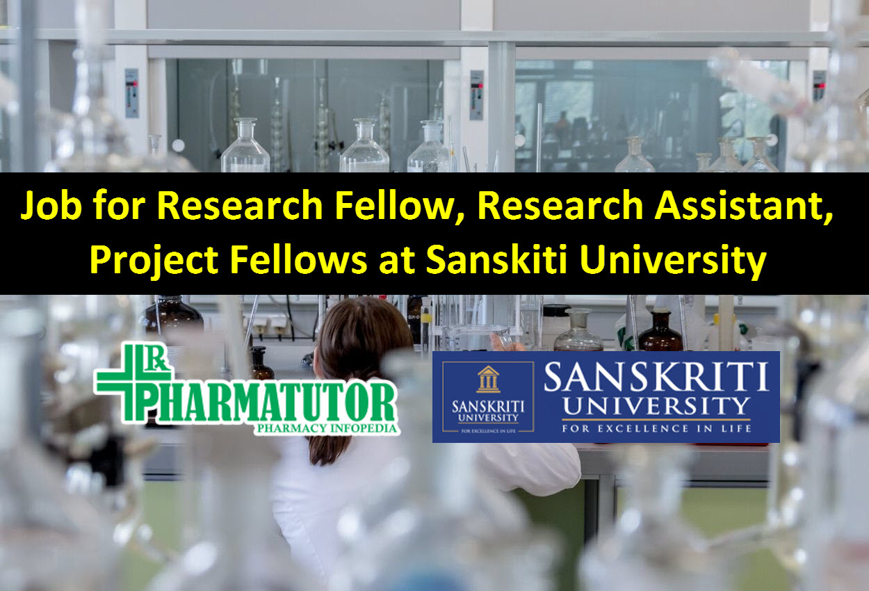 Research Fellow, Research Assistant, Project Fellows at Sanskiti University