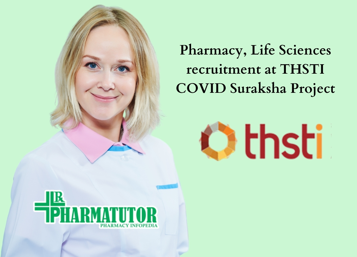 Pharmacy, Life Sciences recruitment at THSTI