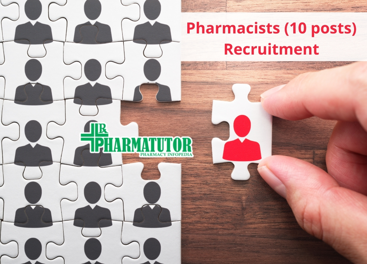 Recruitment for Pharmacists at ECHS Polyclinics and Regional Centre