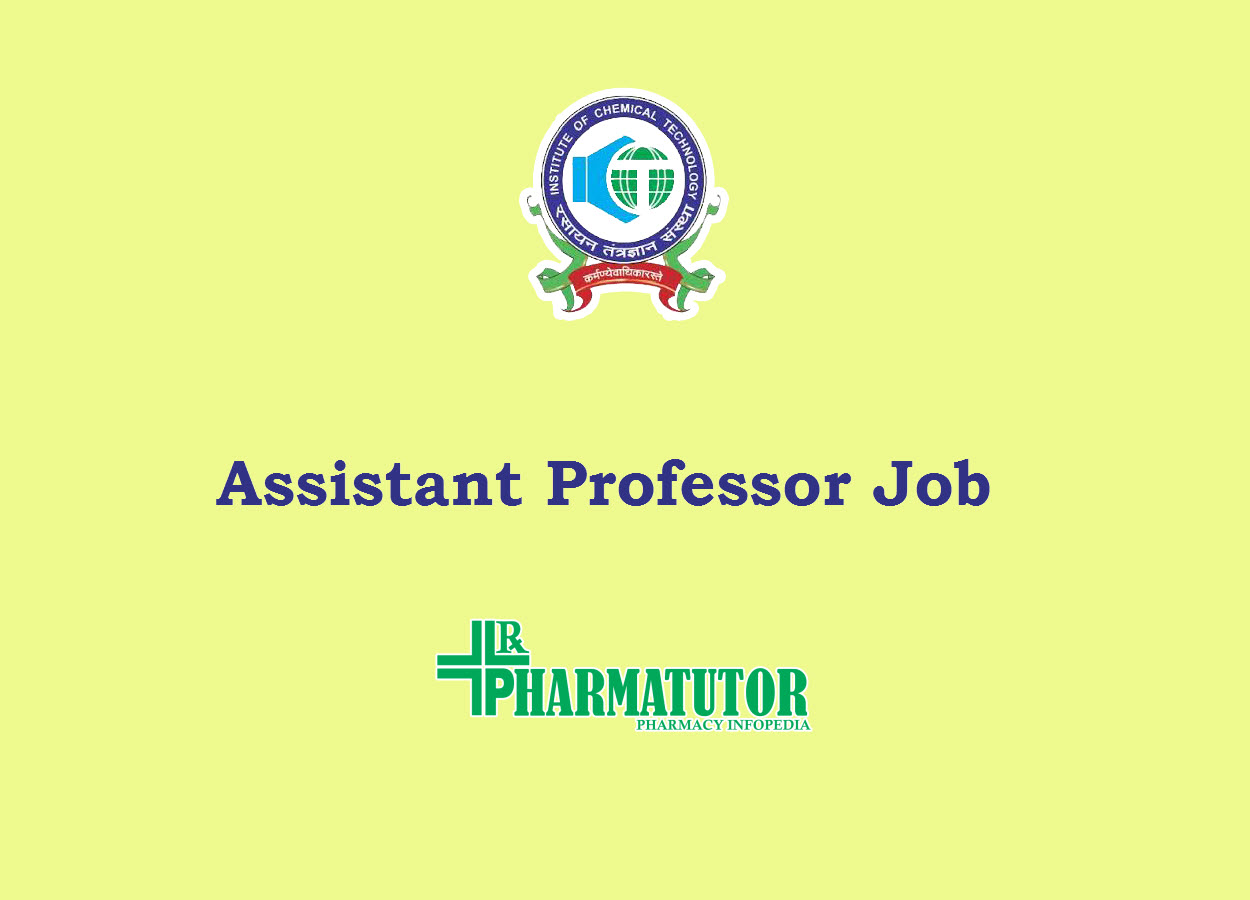 Career for Assistant Professor at Institute of Chemical Technology