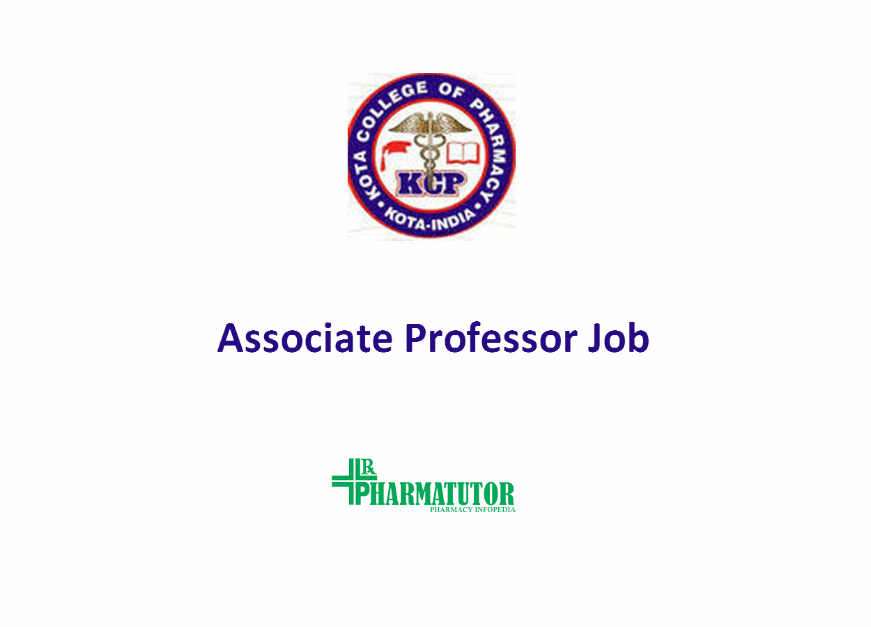 Career for Associate Professor at Kota College of Pharmacy