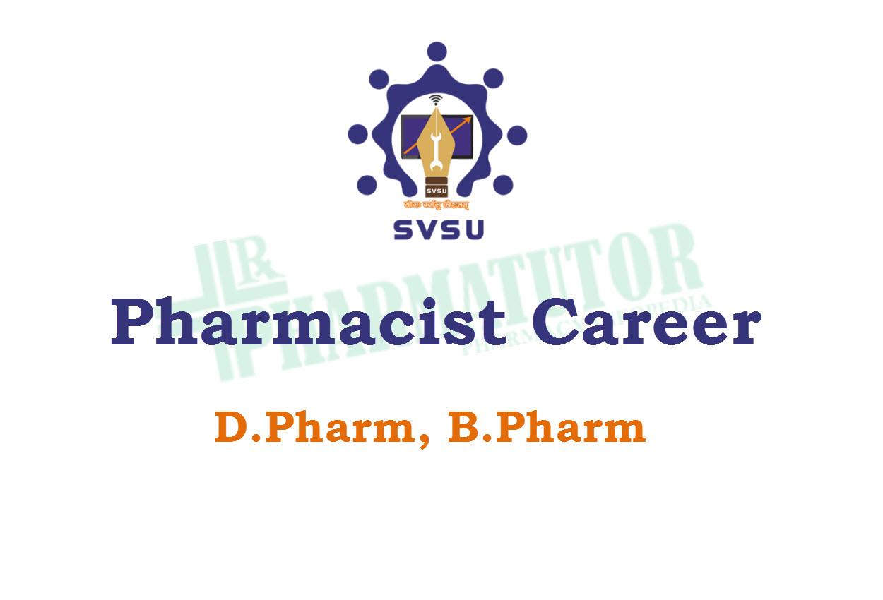 Career for Pharmacist at Shri Vishwakarma Skill University