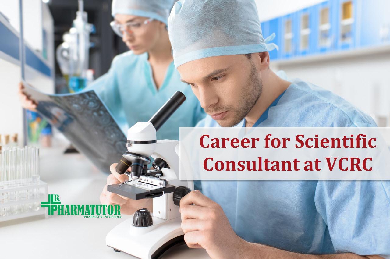 Career for Scientific Consultant at VCRC