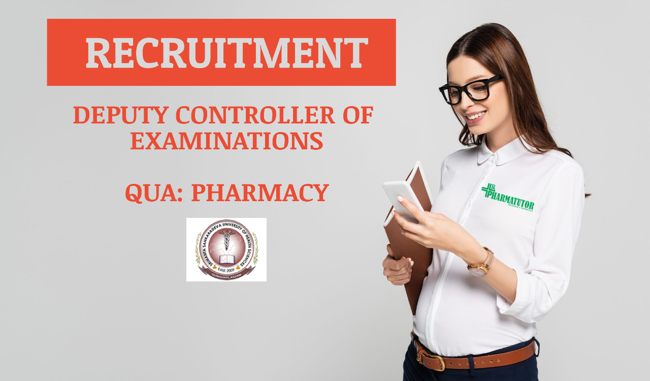 Career opportunity to join SSUHS as Deputy Controller of Examinations