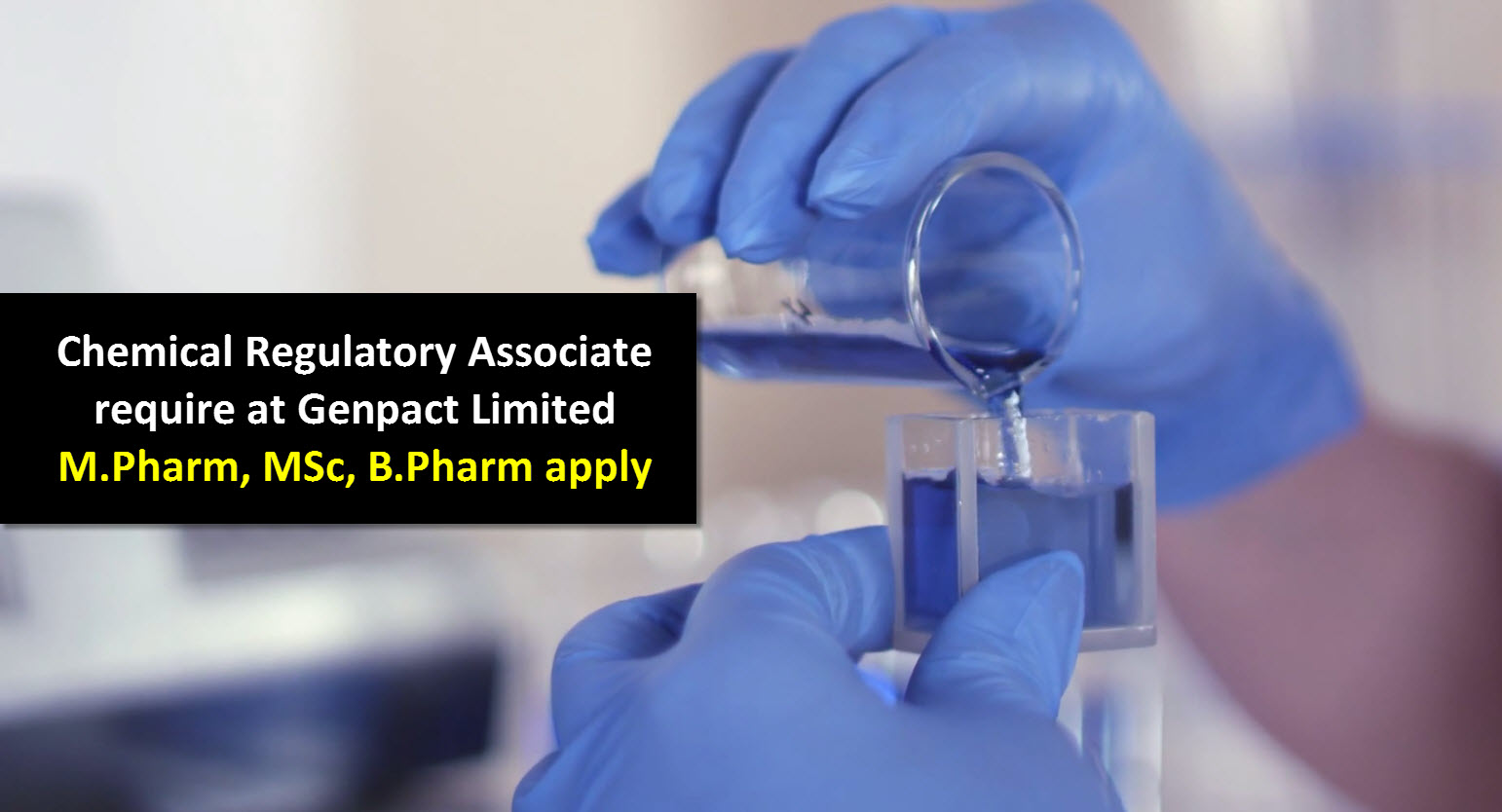 chemical regulatory associate require at genpact limited