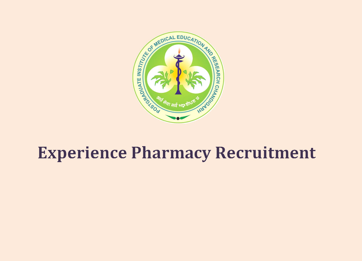 Experience Pharmacy Recruitment at PGIMER