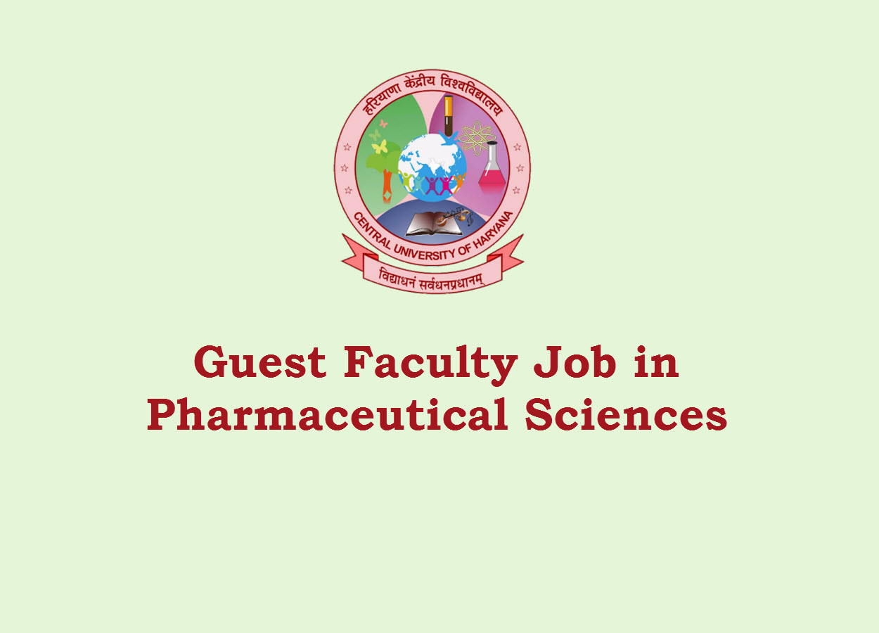Walk in Interview for Guest Faculty at Central University of Haryana