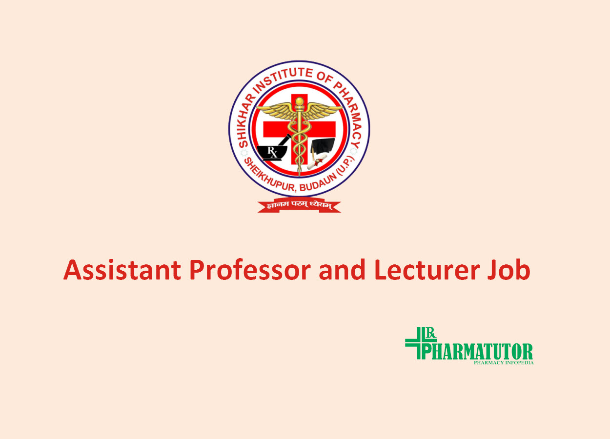 Job for Assistant Professor and Lecturer at Shikhar Institute of Pharmacy