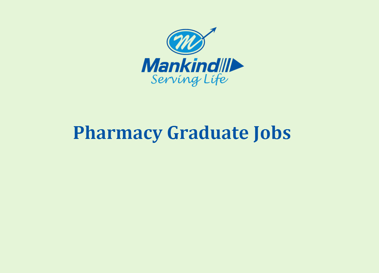 Job for B.Pharm as Trainee Officer at Mankind