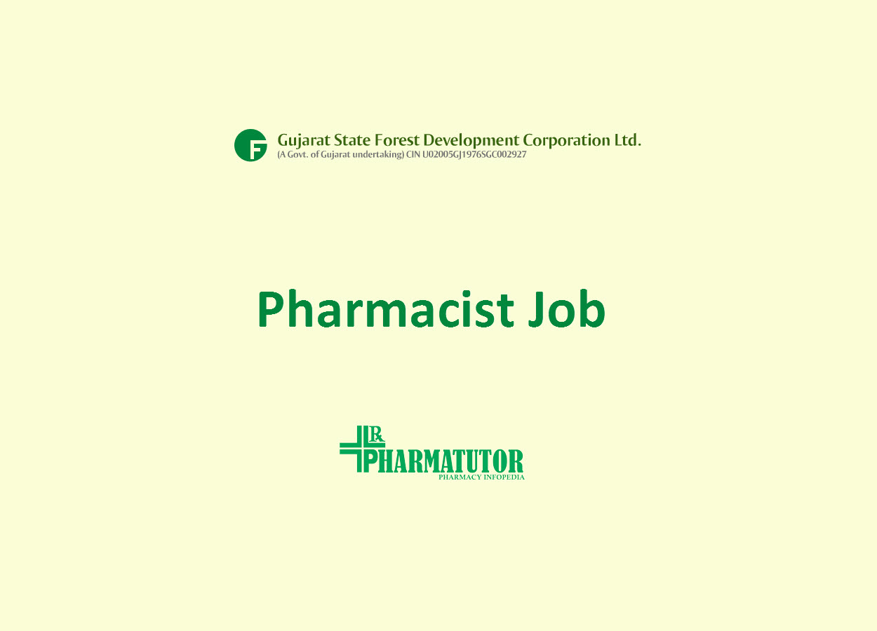 Job for Pharmacist at GSFDCL - Government Job