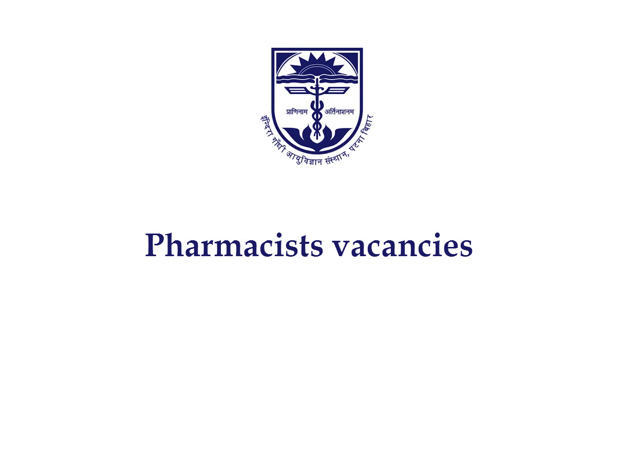 Job for Pharmacists at IGIMS