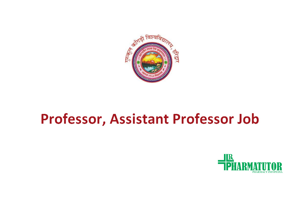 job for professor assistant professor at gurukula kangri vishwavidyalaya