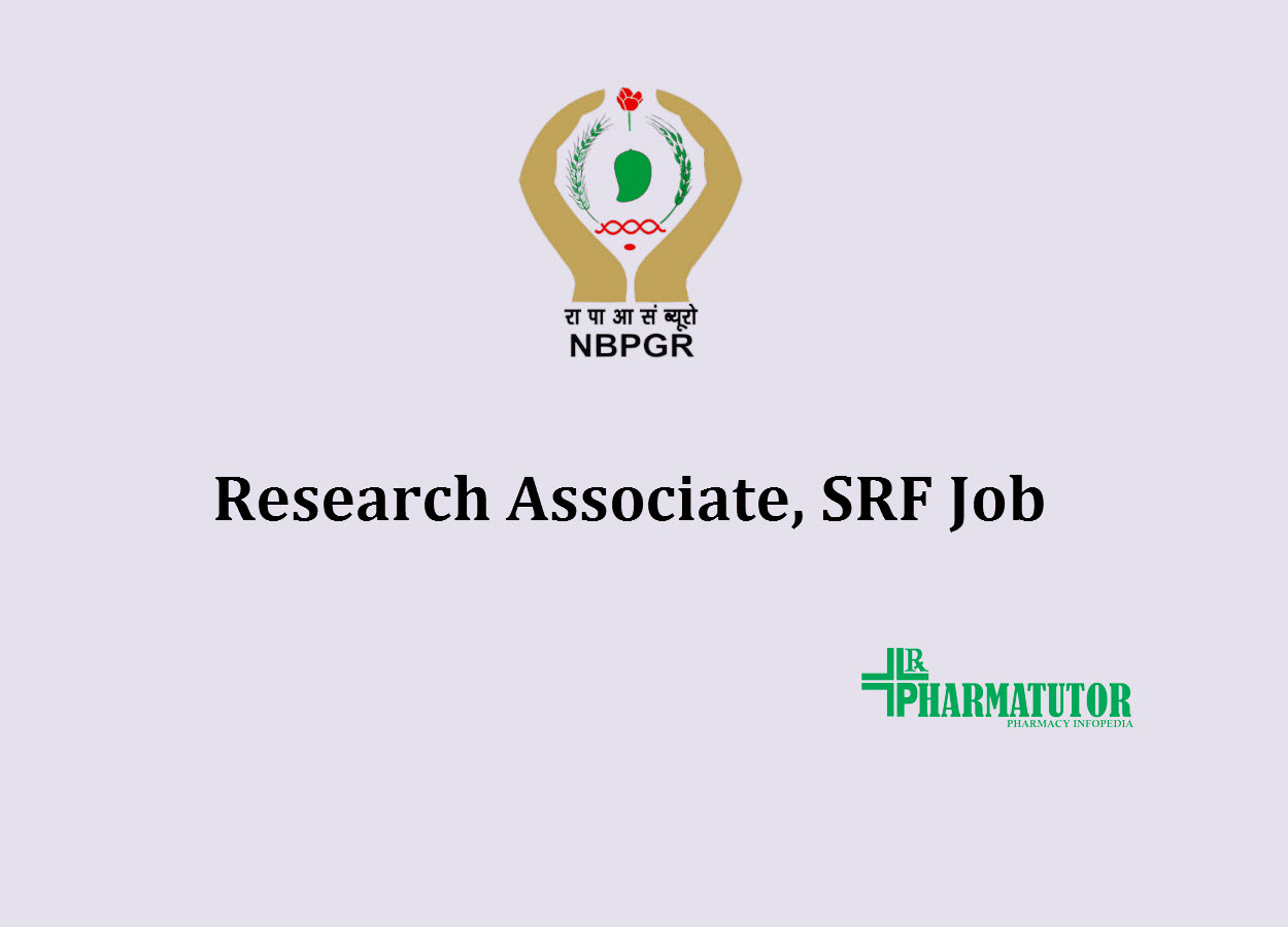 Job for Research Associate, SRF at NIPGR