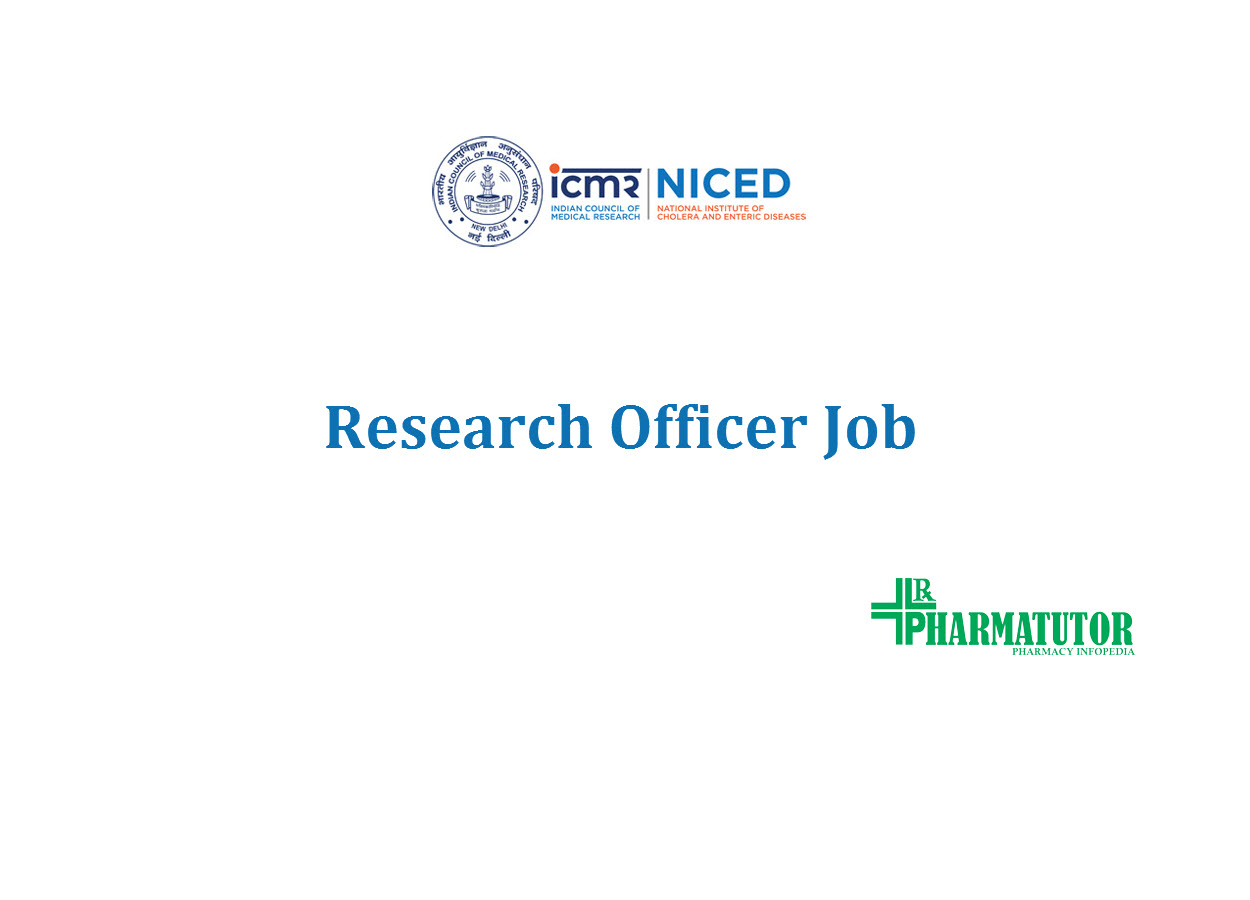 Job for Research Officer at NICED