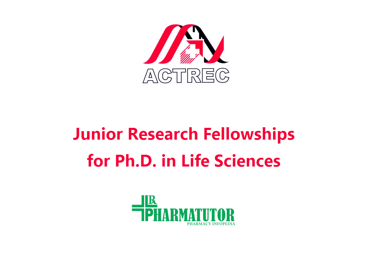 Junior Research Fellowships for Ph.D. in Life Sciences at ACTREC