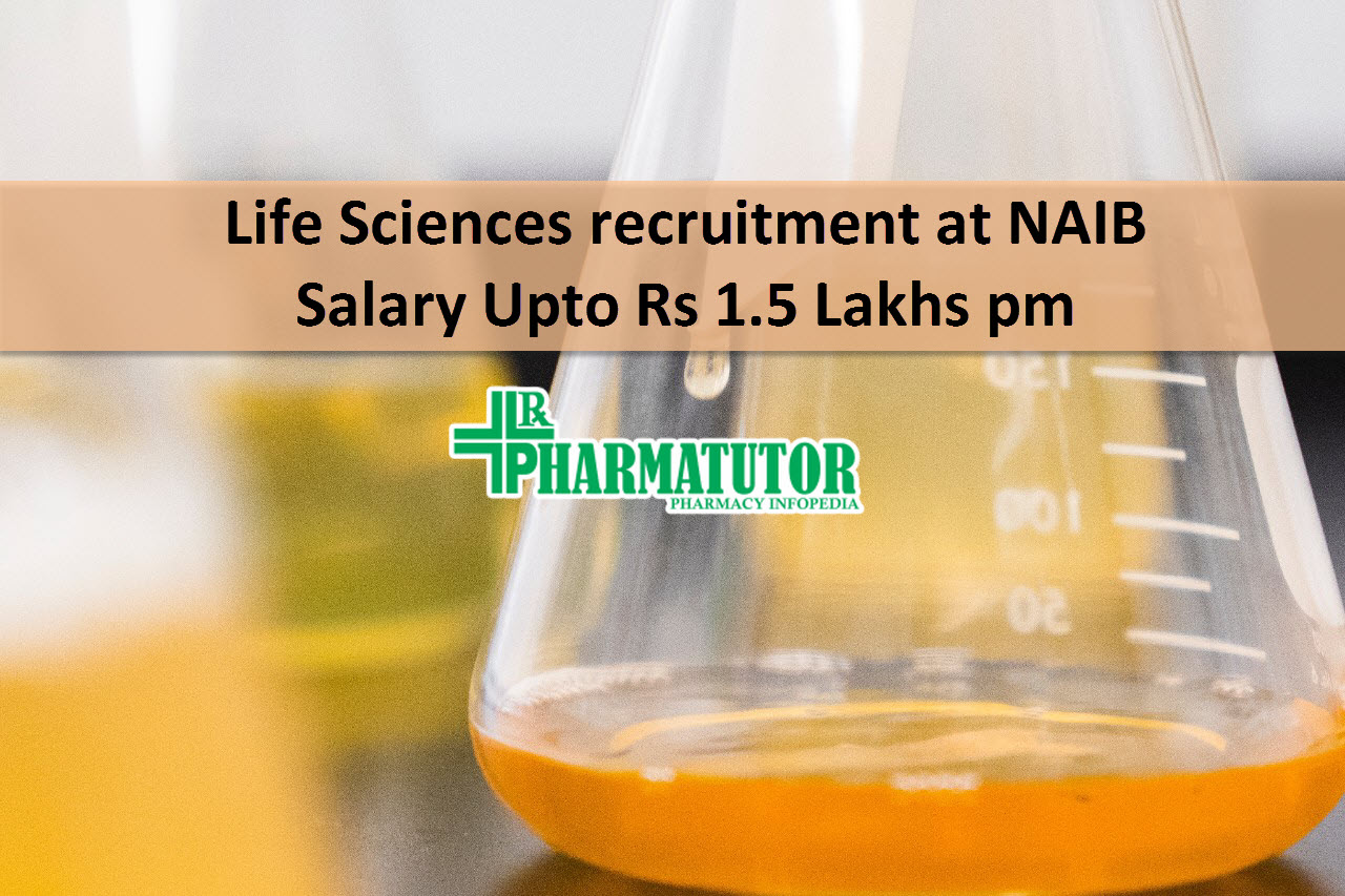 Life Sciences recruitment at National Institute of Animal Biotechnology | Salary Upto Rs 1.5 Lakhs