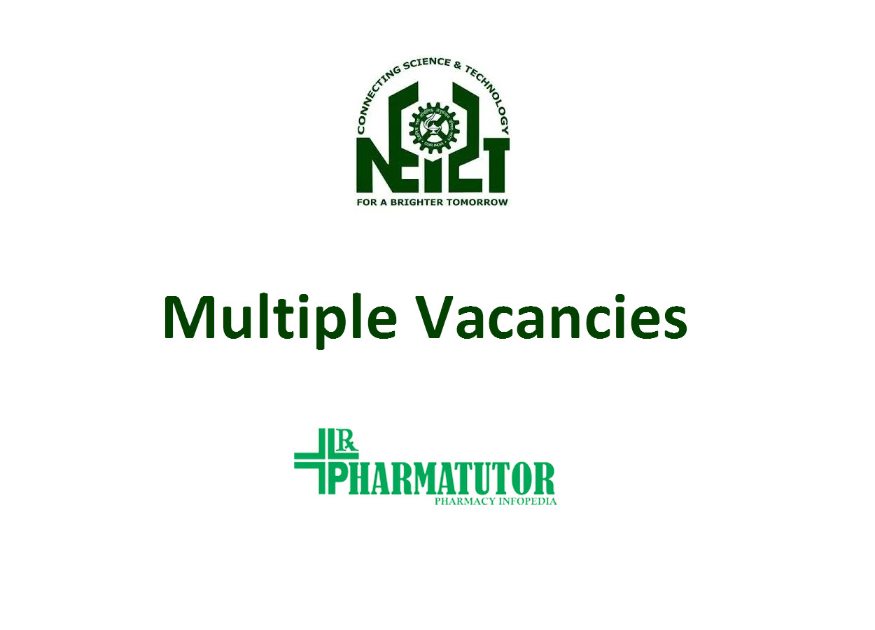 Multiple Vacancies in North East Institute of Science & Technology