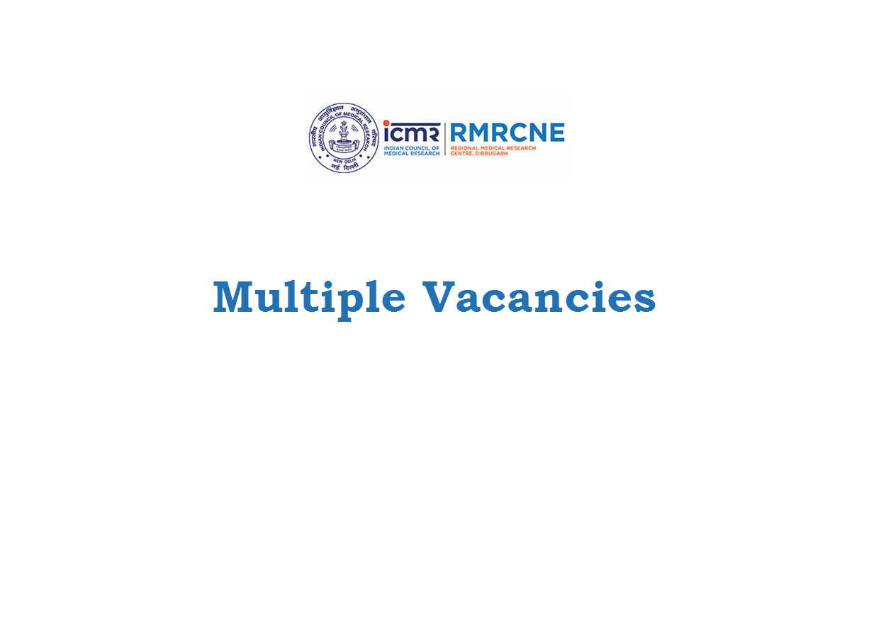 Multiple Vacancies in Regional Medical Research Centre