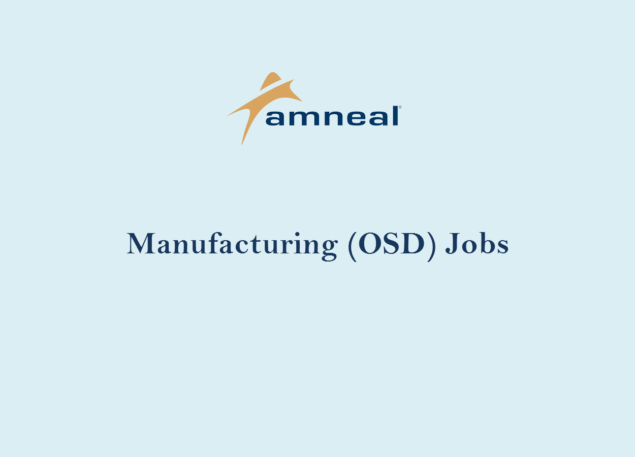 Openings in MNF-OSD at Amneal Pharmaceuticals