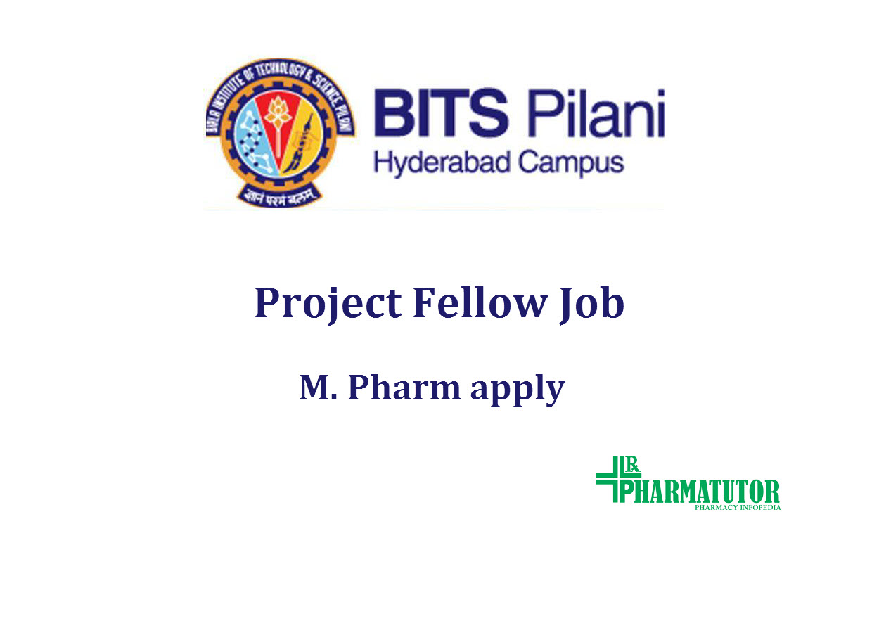 Opportunity for M.Pharm at BITS
