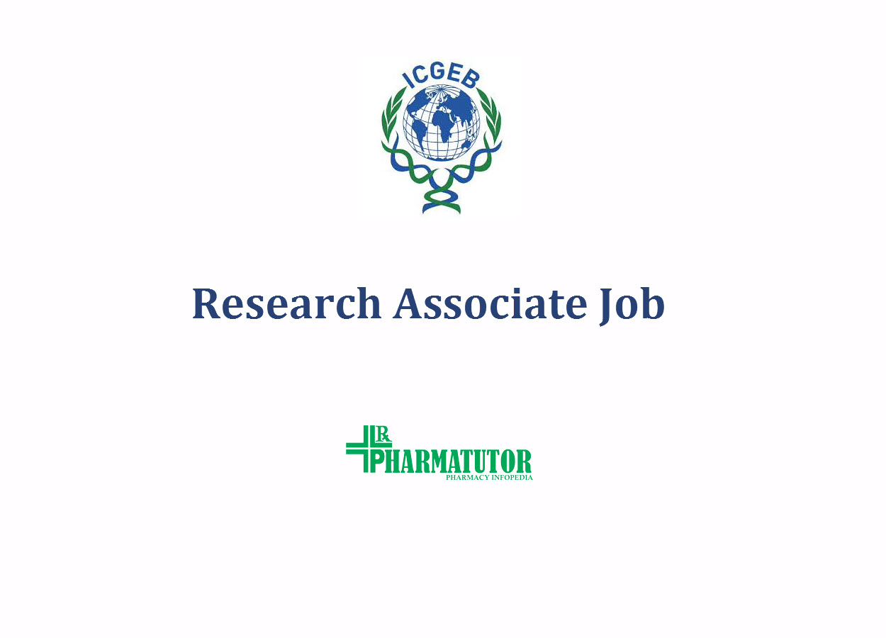 Opportunity for Research Associate at ICGEB