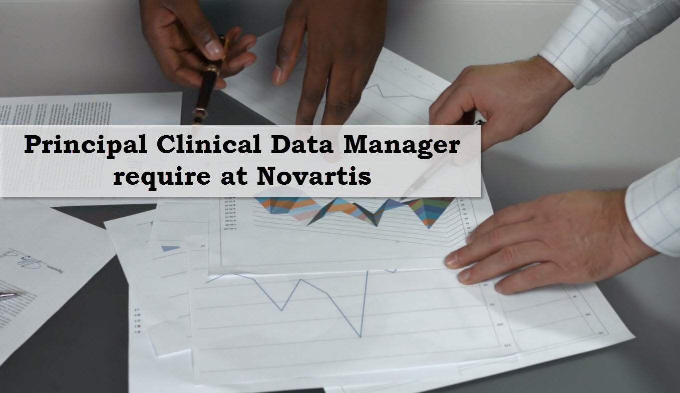 Principal Clinical Data Manager require at Novartis