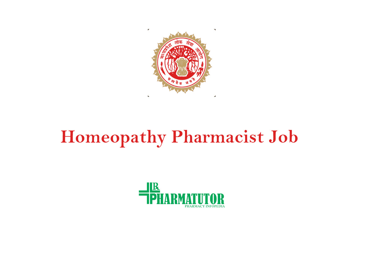 Recruitment for Homeopathy Pharmacist at MPPSC