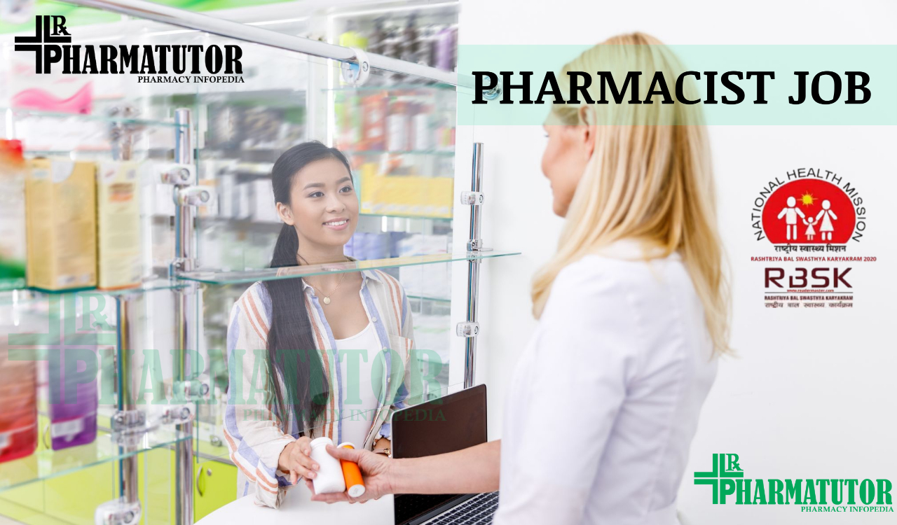 Recruitment for Pharmacists (4 posts) Under NHM