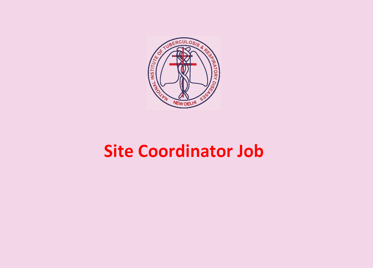 Applications are invited for post of Site Coordinator at NITRD