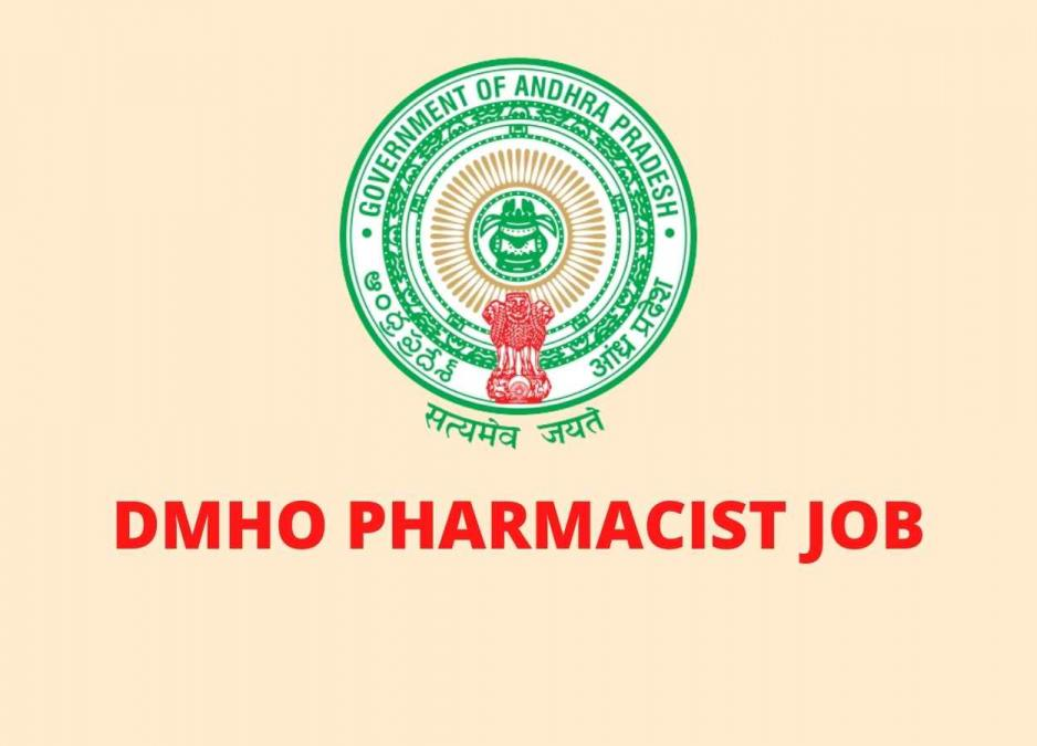 Job for Pharmacist under the control of DMHO