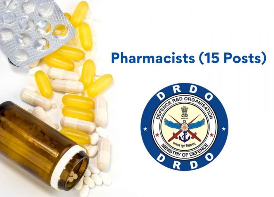 Recruitment for Pharmacists under DRDO