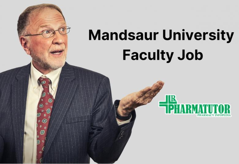 Job for Professor, Assistant Professor, Associate Professor at Mandsaur University