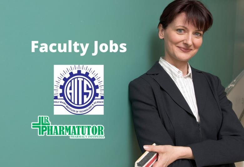 Holy Mary Institute of Technology and Science Jobs