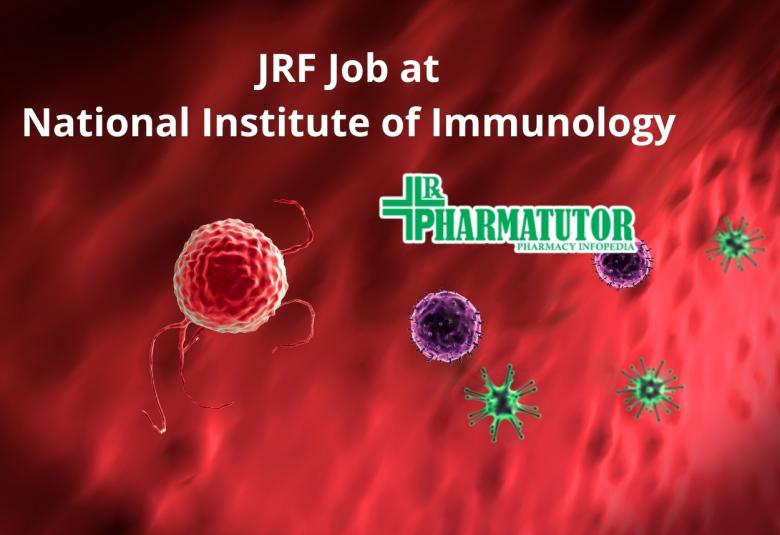 Job for Junior Research Fellow at National Institute of Immunology