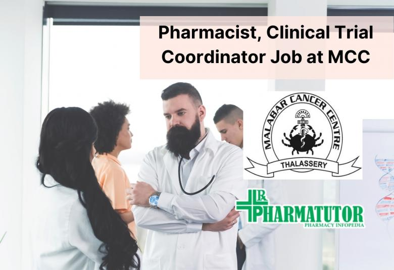 Job for Pharmacist, Clinical Trial Coordinator at MCC