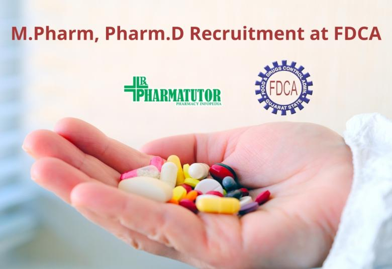 M.Pharm, Pharm.D Recruitment at Food and Drugs Control Administration