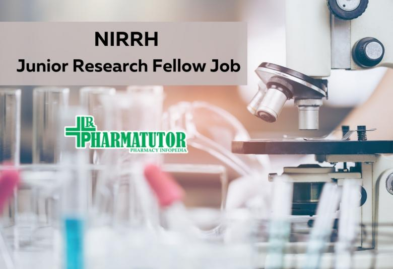 NIRRH Junior Research Fellow Job