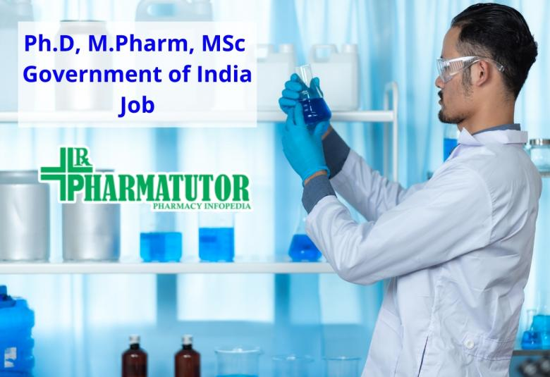 Ph.D, M.Pharm, MSc Recruitment for Research at NCCS