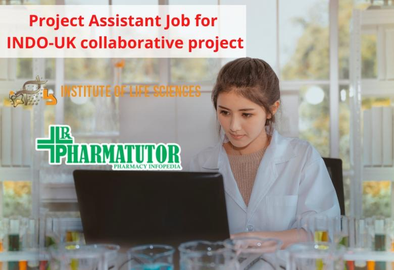 Vacancy for Project Assistant for INDO-UK collaborative project