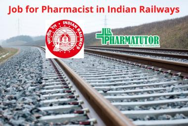 Job for Pharmacist in Indian Railways