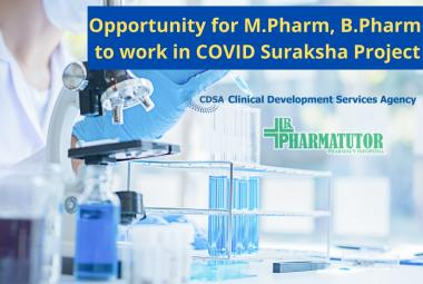 COVID Suraksha Project Job at CDSA