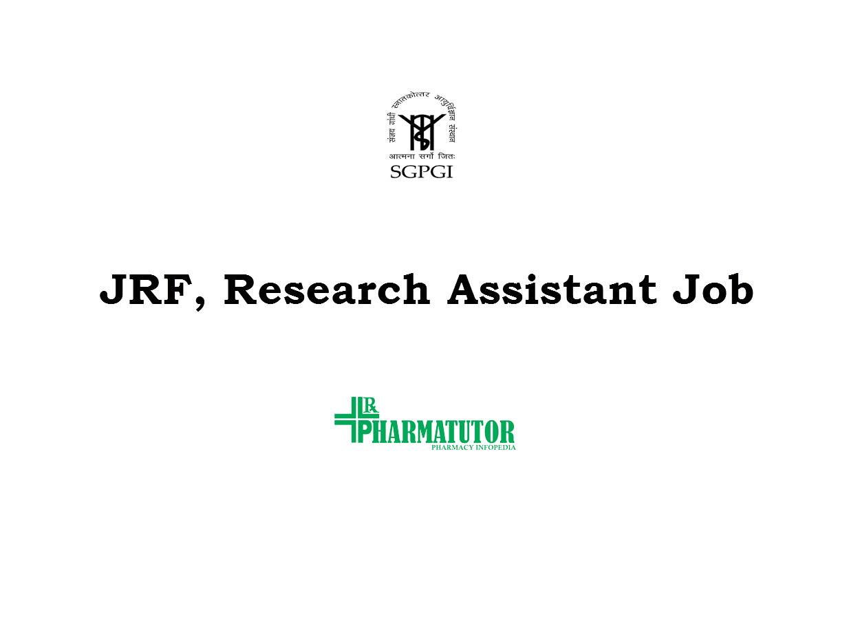 Vacancy for JRF, Research Assistant at SGPGI