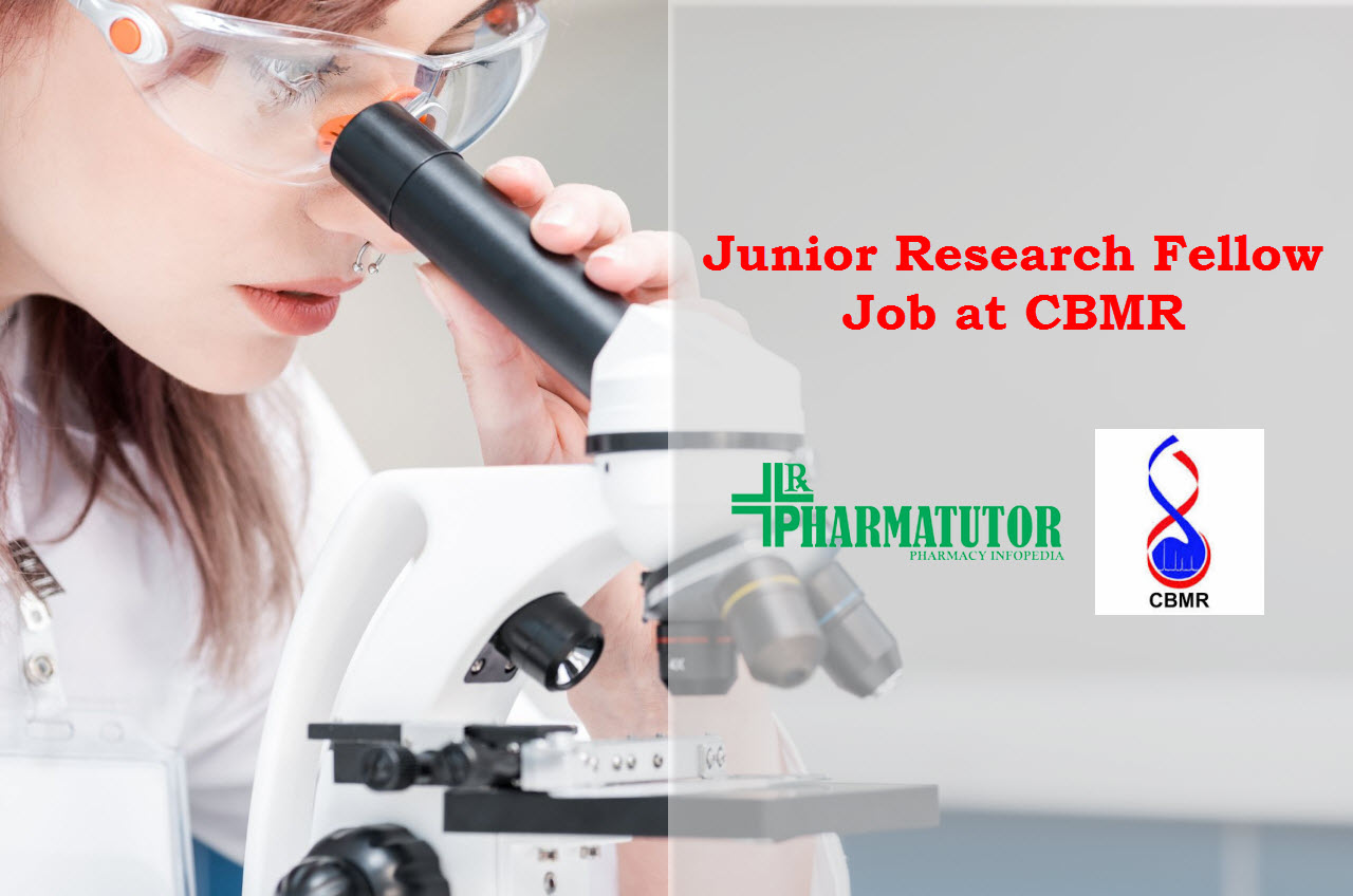 Vacancy for Junior Research Fellow at CBMR
