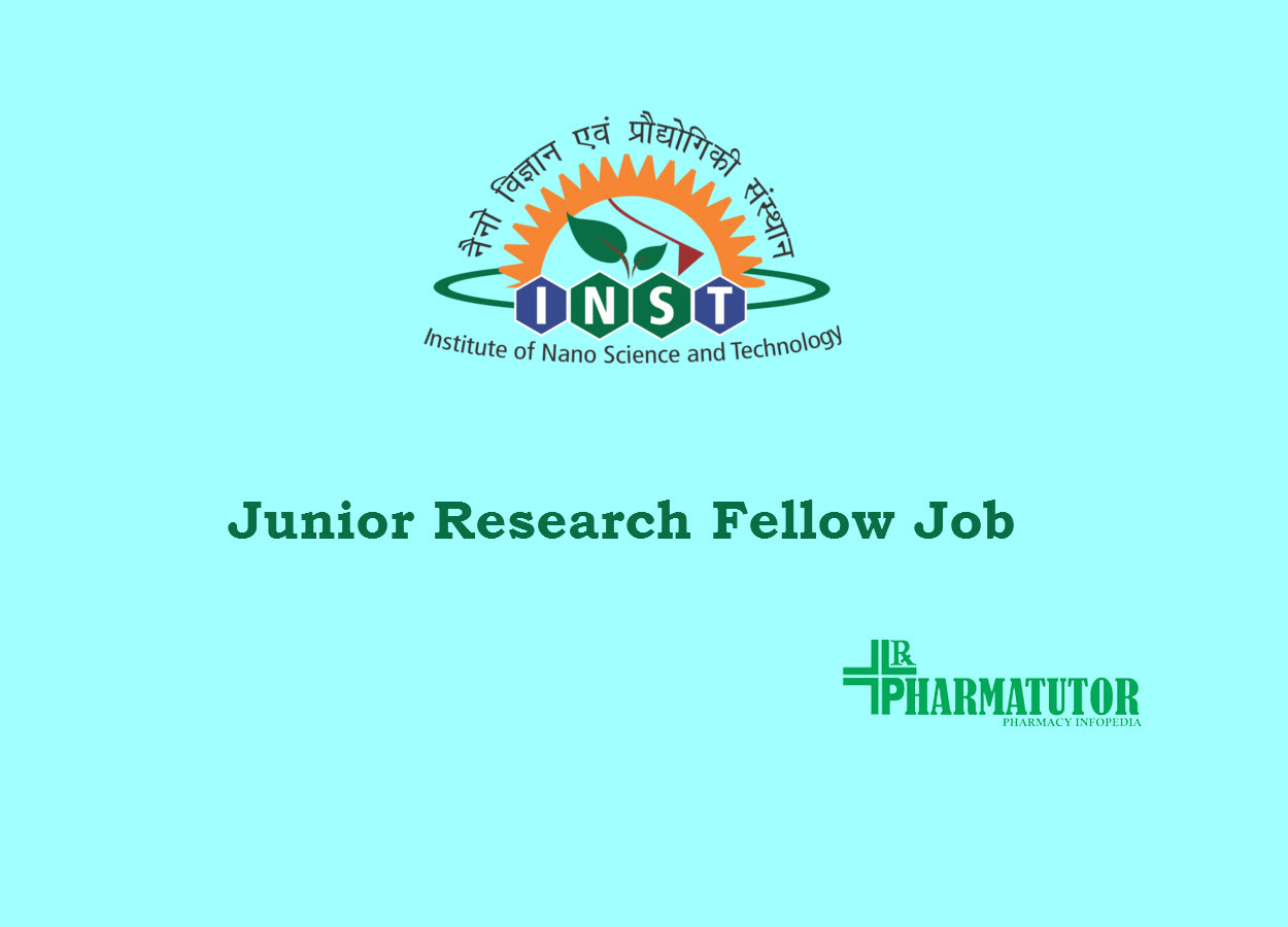 Vacancy for Junior Research Fellow at INST
