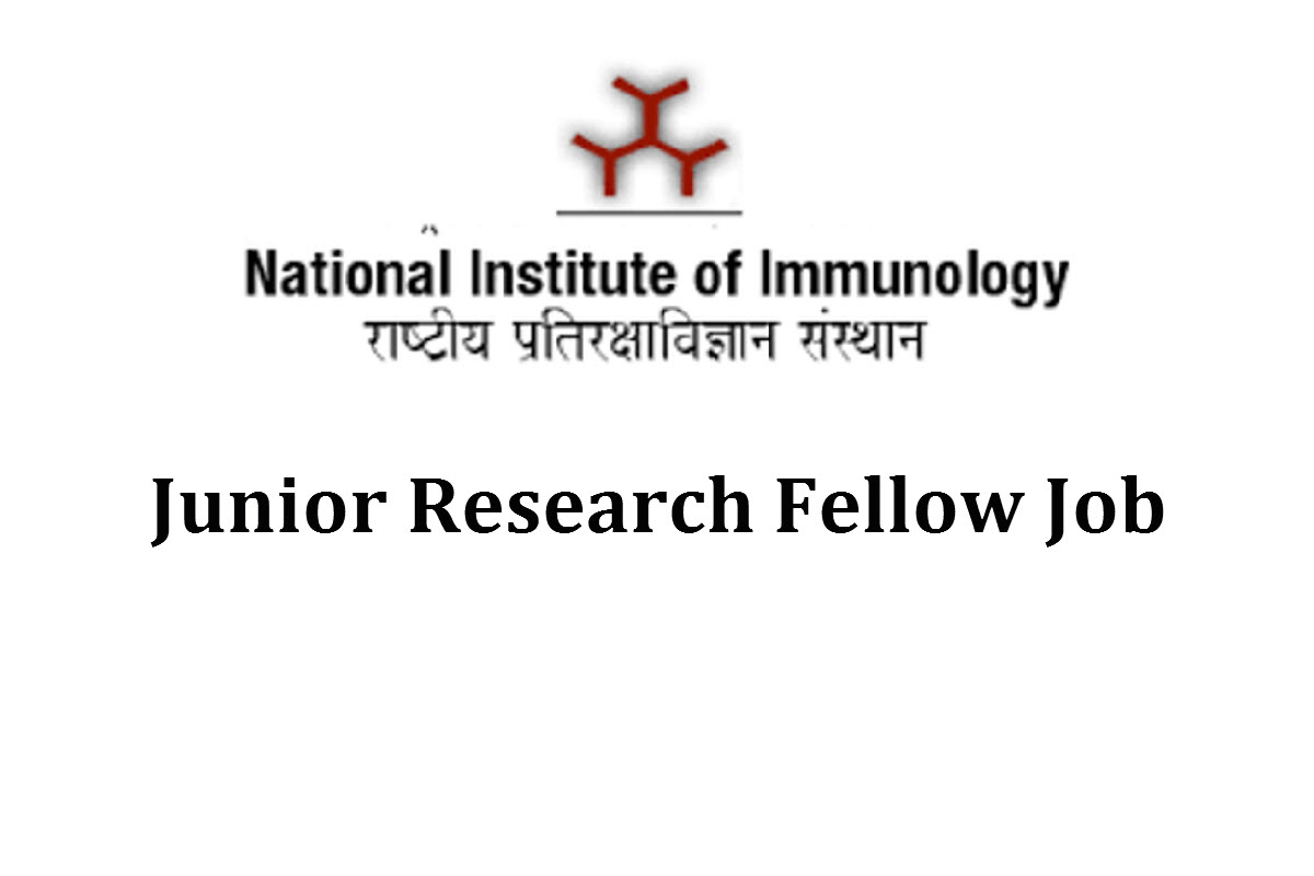 Vacancy for Junior Research Fellow at NII