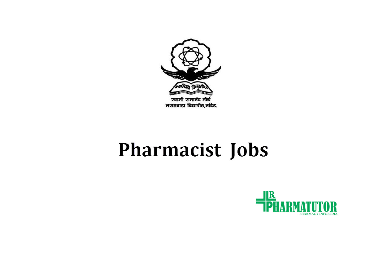 Vacancy for Pharmacists at SRTMUN