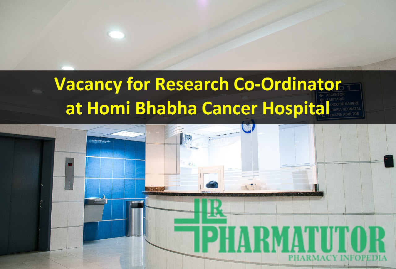Clinical Research job in Homi Bhabha Cancer Hospital
