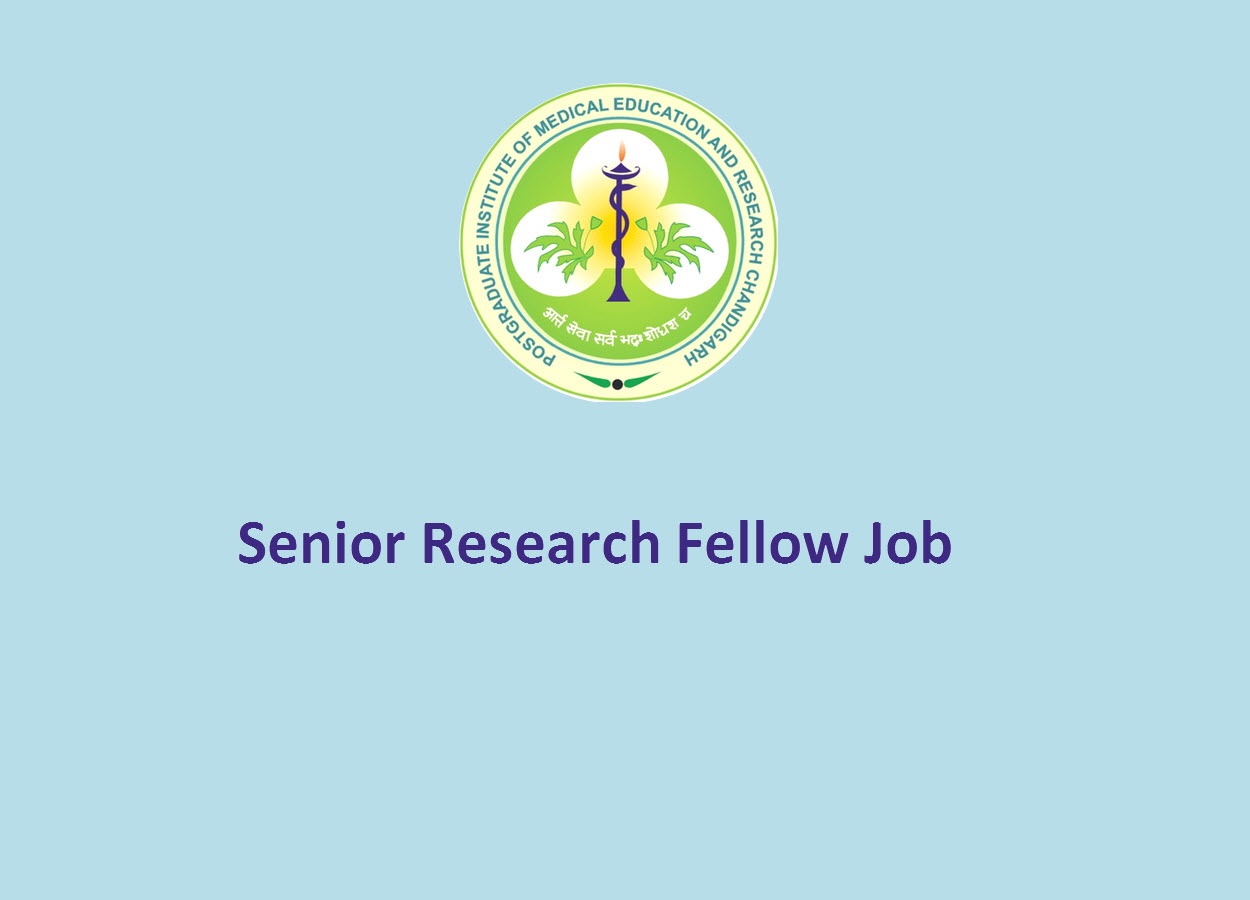 Vacancy for Senior Research Fellow at PGIMER