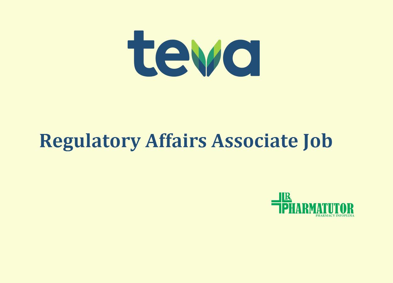 Work as Regulatory Affairs Associate at Teva Pharmaceutical
